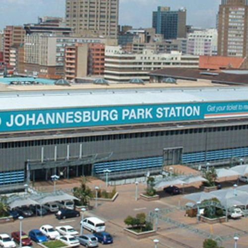 Estación de tren de Johannesburgo